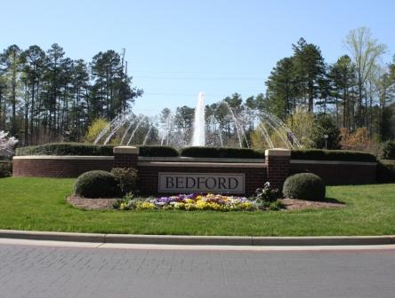 Bedford Raleigh Neighborhood Entrance Sign